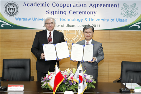 Academic Cooperation with Warsaw University of Technology, Poland