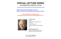 Special Lecture Series (Human Resource Management)
